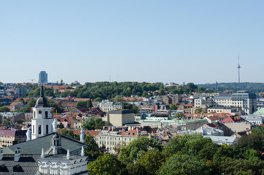 Vilnius Photograph by David Crespo