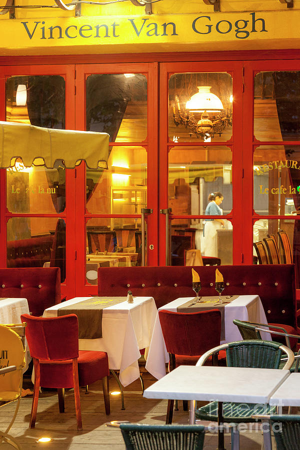 Vincent Van Gogh Cafe - Provence France Photograph