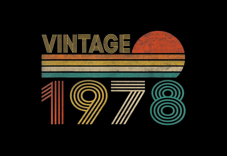 Vintage 1978 Digital Art