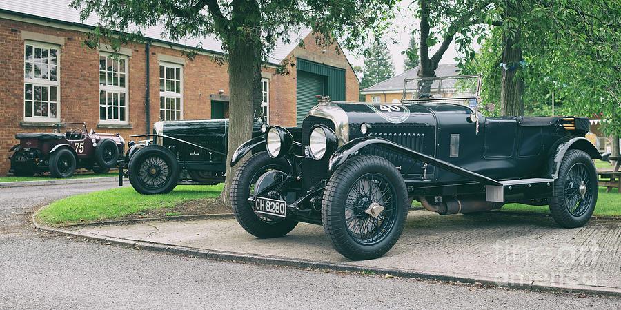 Bentley Photograph - Vintage Bentleys by Tim Gainey