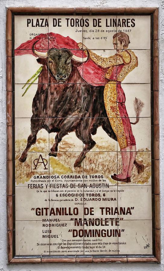 Vintage Bullfight Poster - Cordoba Photograph