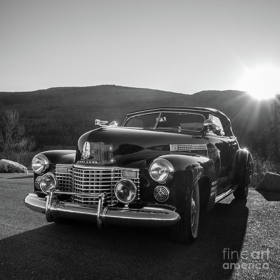 Vintage Caddy Mount Washington Hotel by Edward Fielding