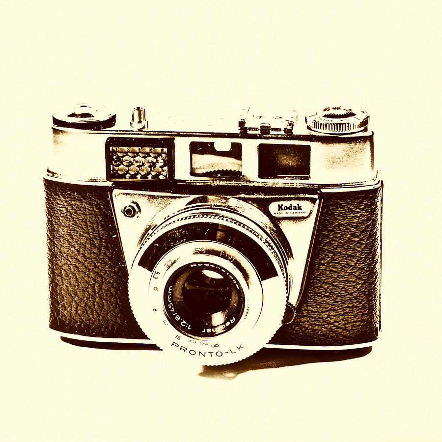 Camera Photograph - Vintage Camera by Paul Cullen