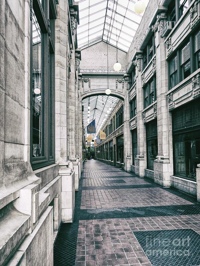Ann Arbor Photograph - Vintage Corridor by Phil Perkins