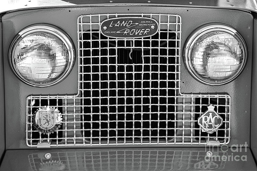 Vintage Land Rover Photograph