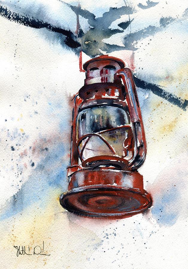 Vintage Lantern by Dora Hathazi Mendes