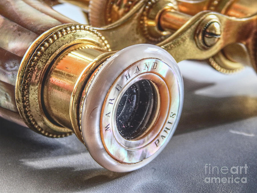 Opera Glasses Photograph - Vintage Opera Glasses by Phil Perkins