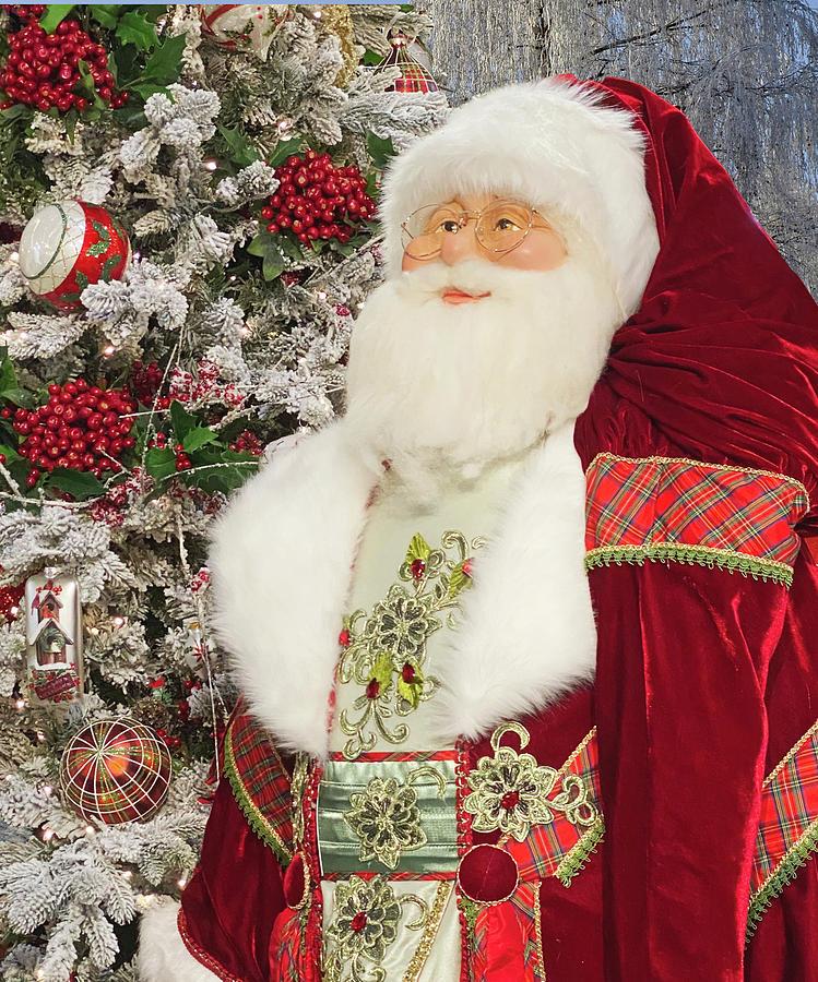 Vintage Santa by Steph Gabler