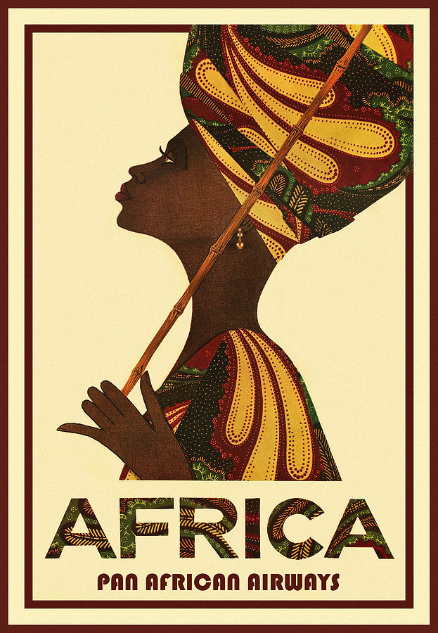 Vintage Travel Africa by Andrew Fare