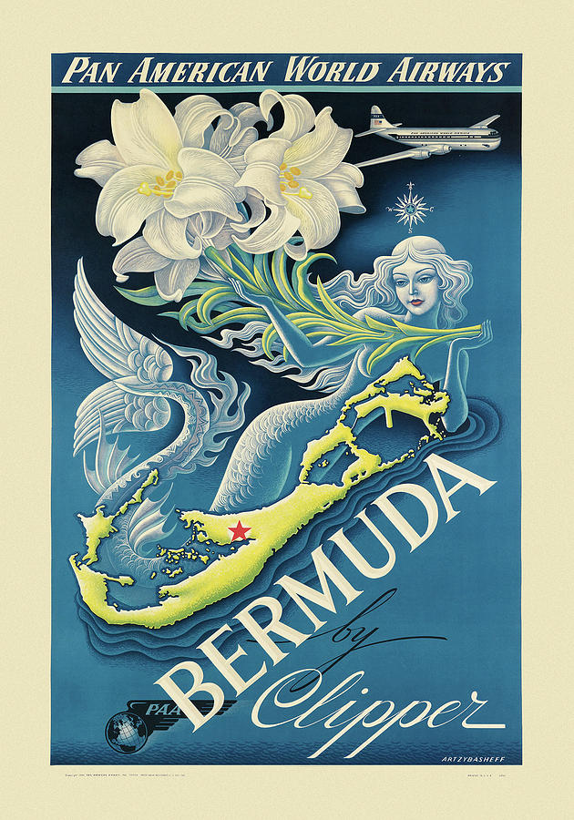 Vintage Travel Bermuda by Andrew Fare