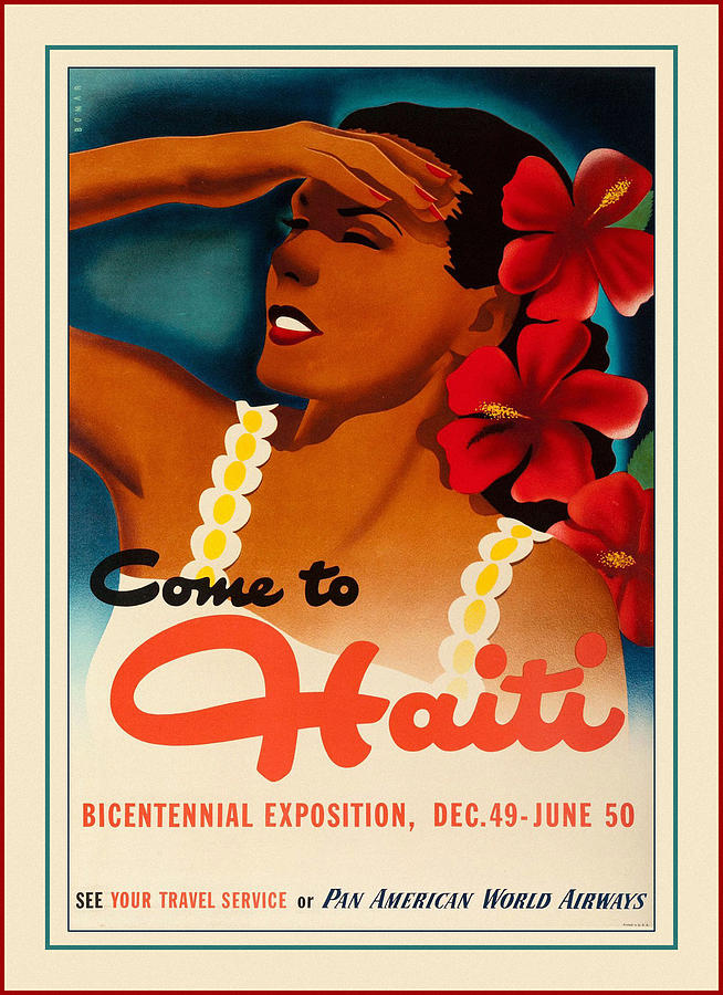 Vintage Travel Haiti by Andrew Fare