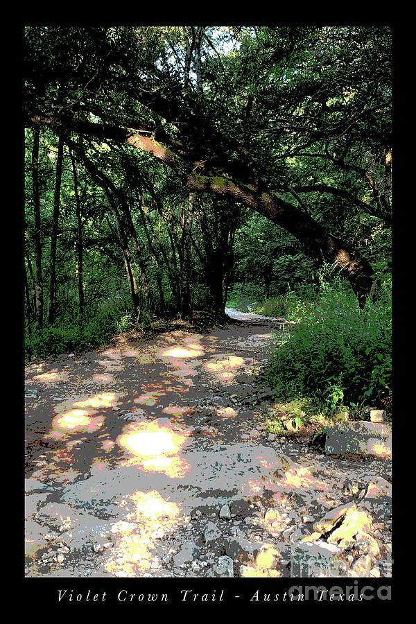 Violet Crown Trail Morning Digital Art