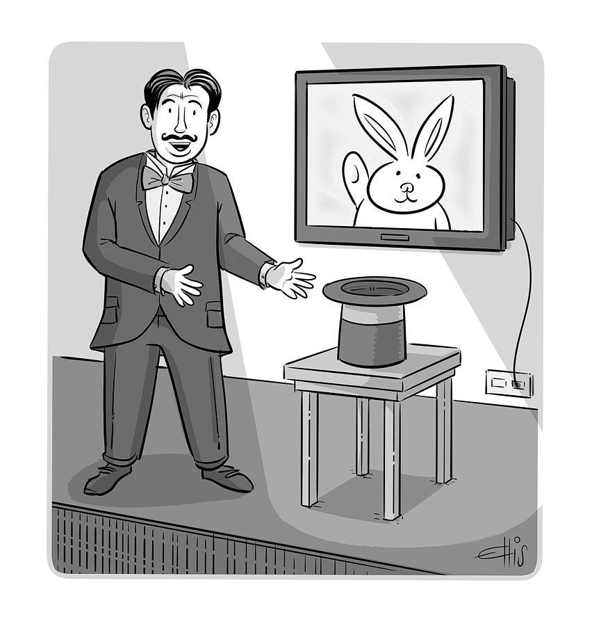 Virtual Magic Drawing by Ellis Rosen