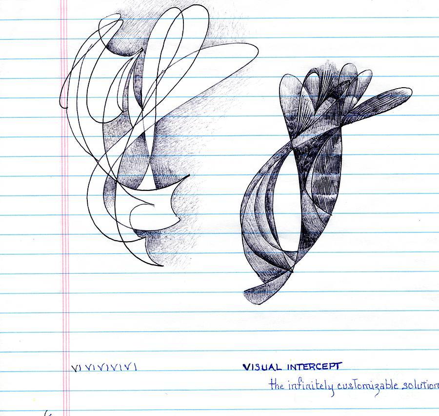 Visual Intercept by Rosanne Licciardi