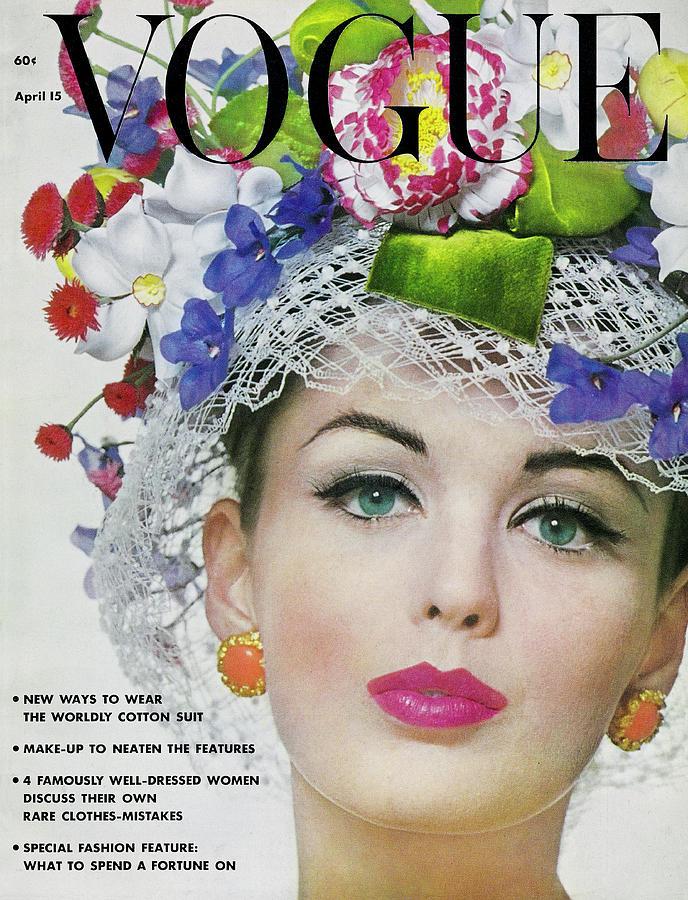 Vogue Magazine April 15, 1962 Photograph by Bert Stern