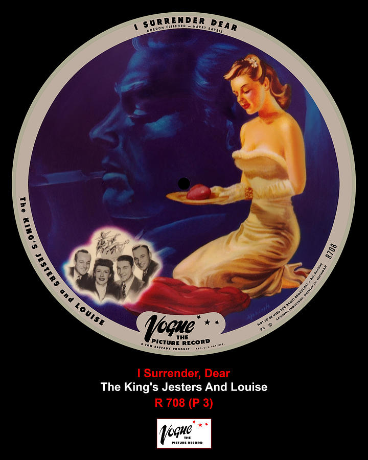 Vogue Digital Art - Vogue Record Art - R 708 - P 3 by John Robert Beck