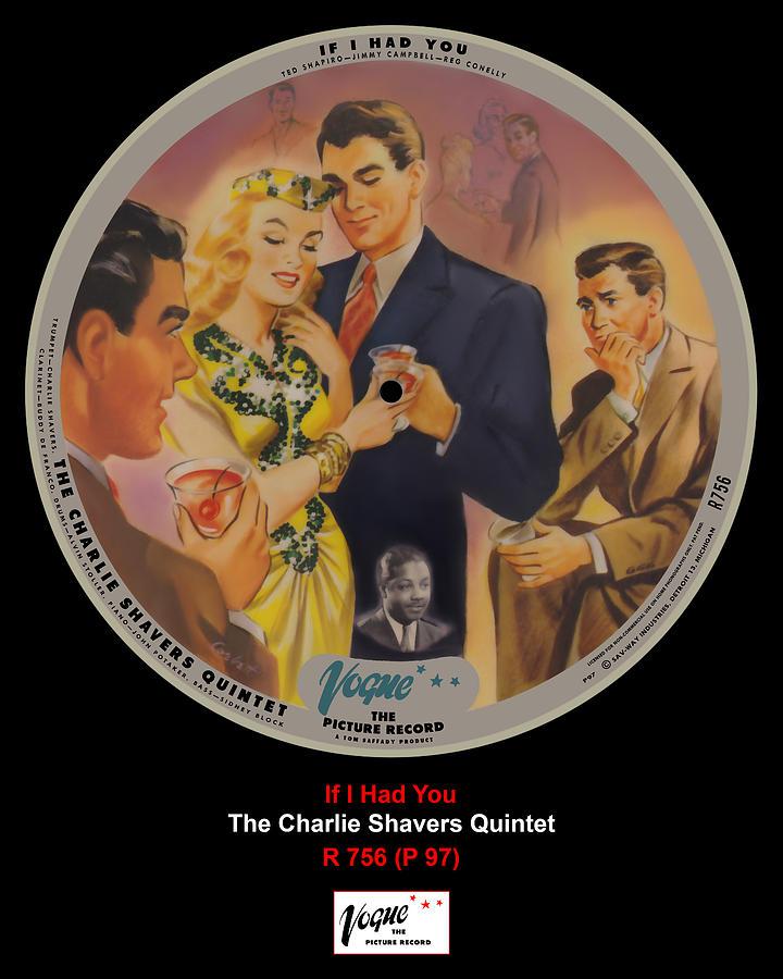 Vogue Digital Art - Vogue Record Art - R 756 - P 97 by John Robert Beck