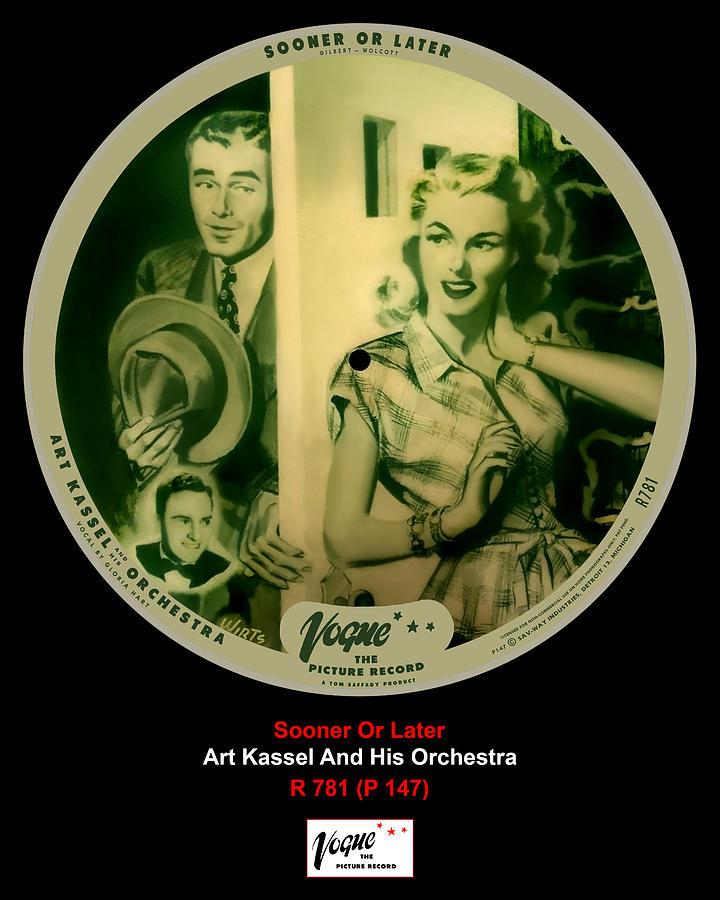 Vogue Digital Art - Vogue Record Art - R 781 - P 147 by John Robert Beck