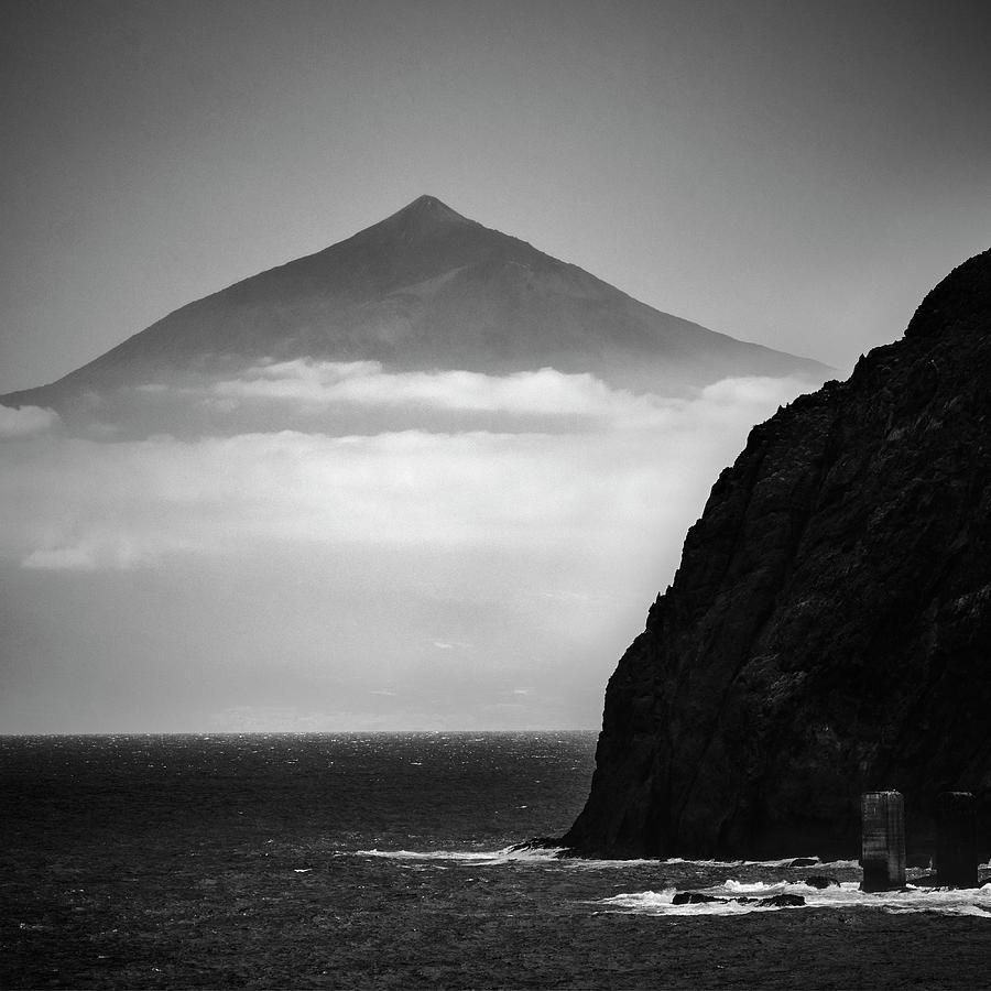 Volcano Photograph - Volcano Teide. 3.718 meters by Guido Montanes Castillo