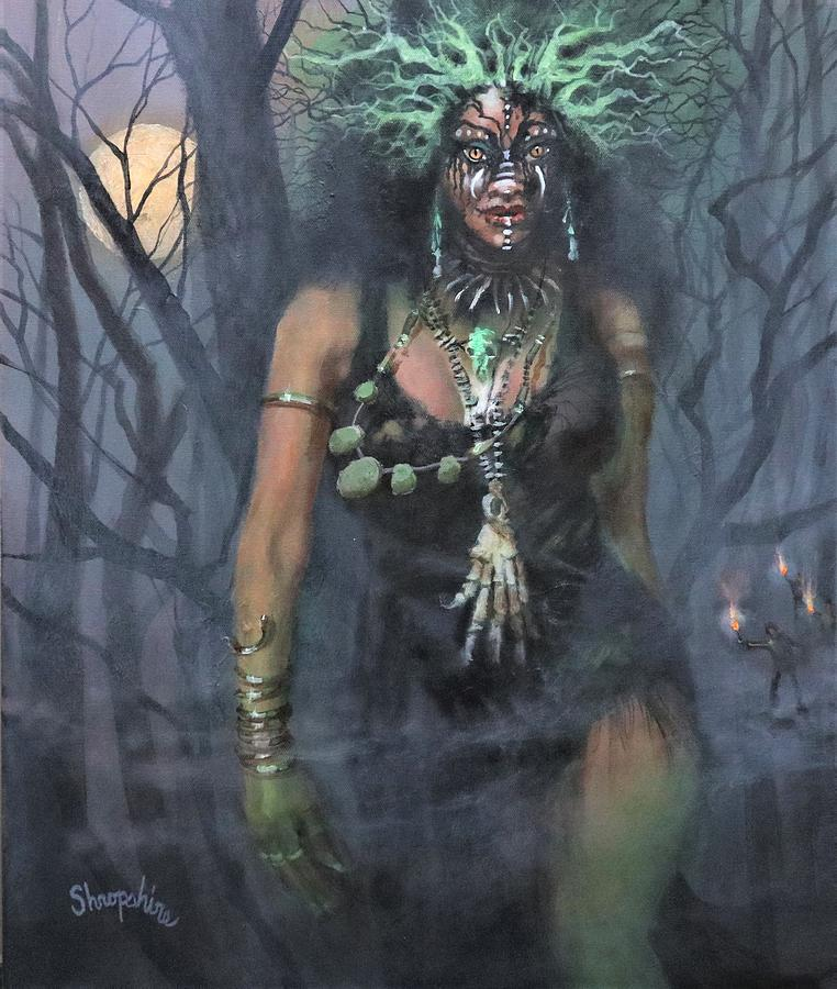 Voodoo Woman by Tom Shropshire