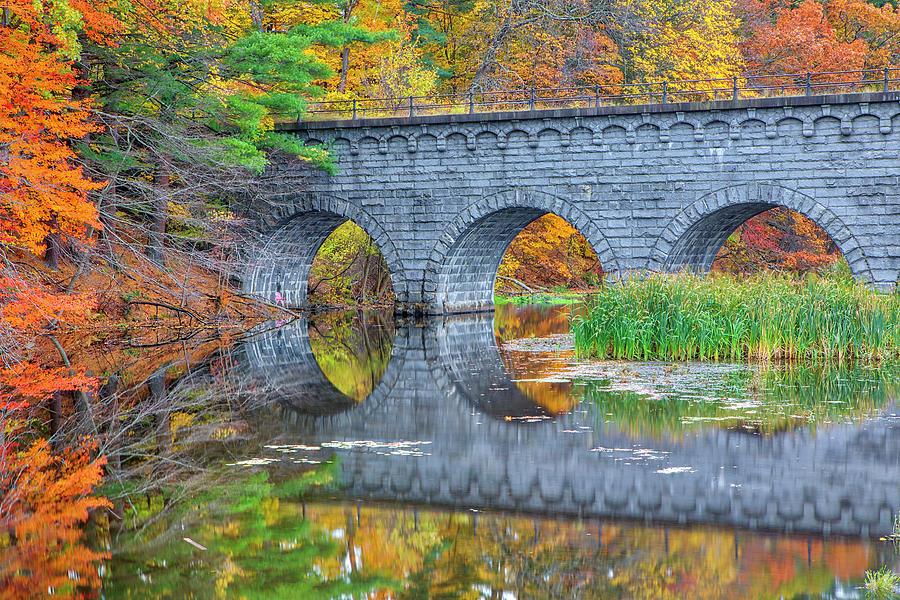 Wachusett Aqueduct Bridge by Juergen Roth
