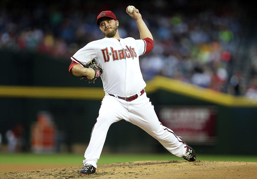 Wade Miley Photograph by Christian Petersen