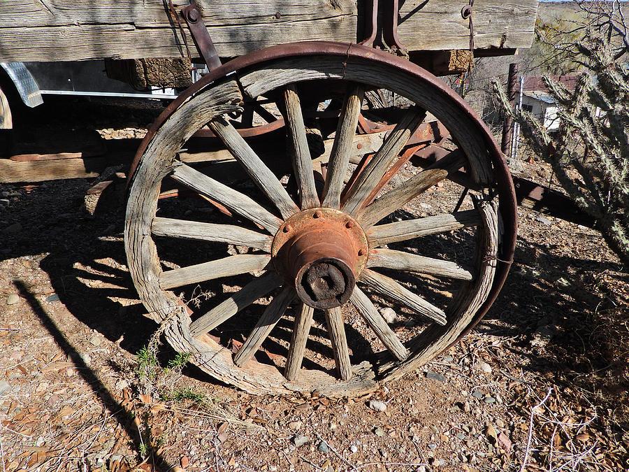 Wagon Wheel Dscn0881 Photograph