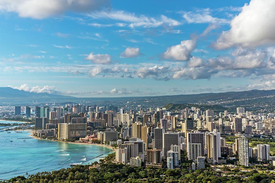Waikiki and Honolulu by Kelley King