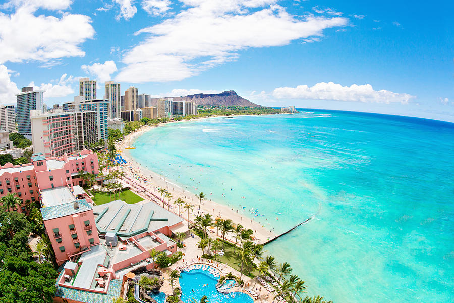 Waikiki beach Photograph by M.M. Sweet