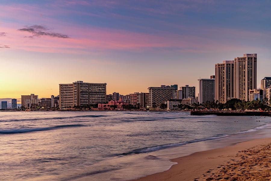 Waikiki Sunset by Kelley King