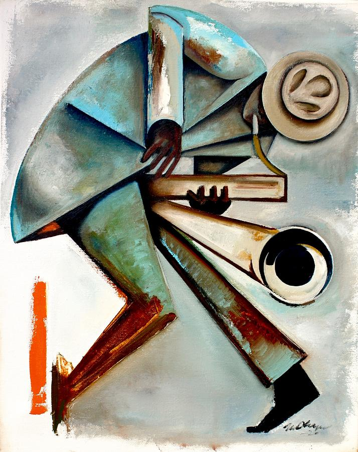 Jazz Painting - Wail / Hanah Jon Taylor by Martel Chapman