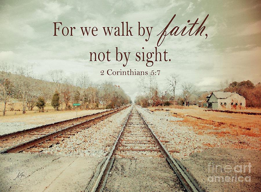 Walk By Faith Digital Art