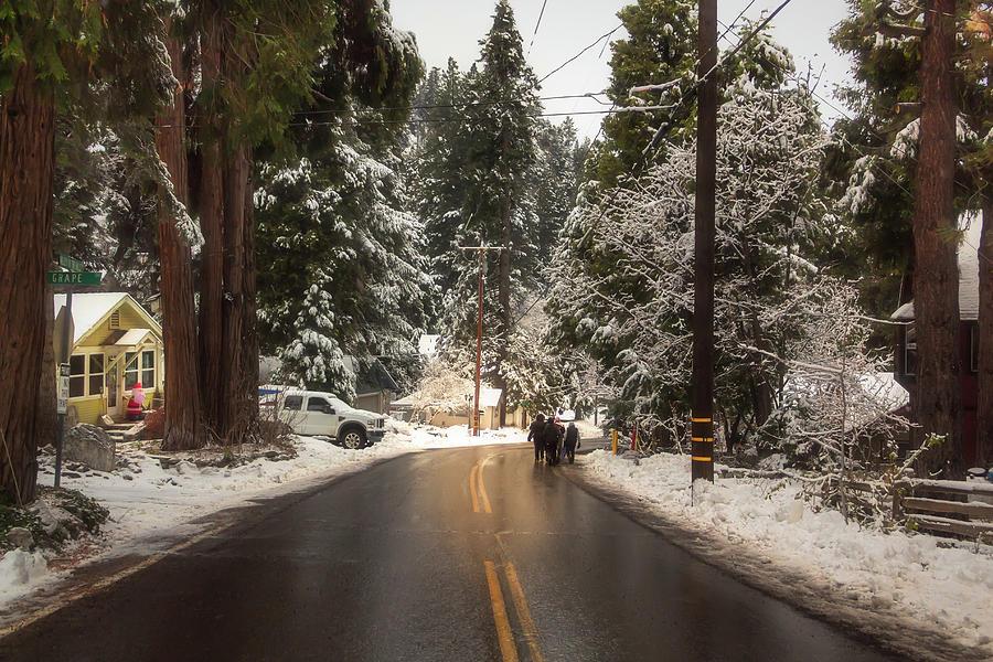 Walking in a Winter Wonderland BL by Alison Frank