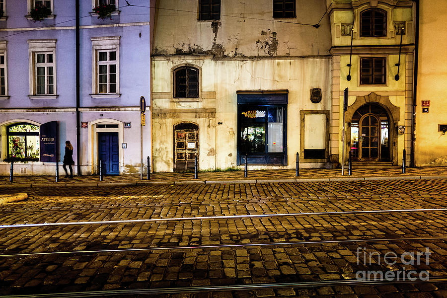 Walking the Streets of Prague by Miles Whittingham
