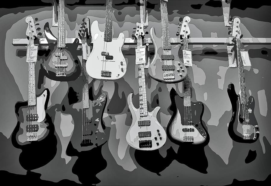 Wall Of Sound Digital Art