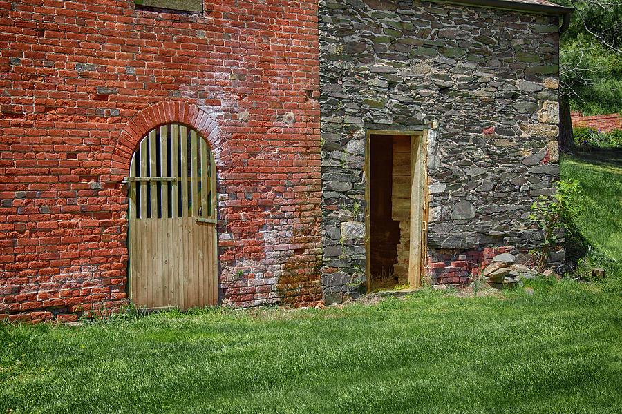 Walls And Doors Photograph