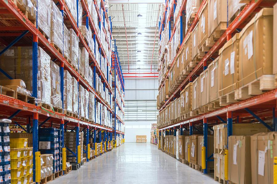 Warehouse Photograph by Kmatta