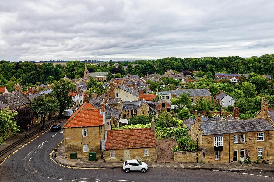 Warkworth Village Photograph