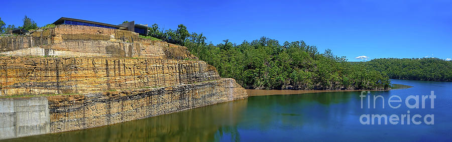 Warragamba Dam 2 Nsw Australia By Kaye Menner Photograph