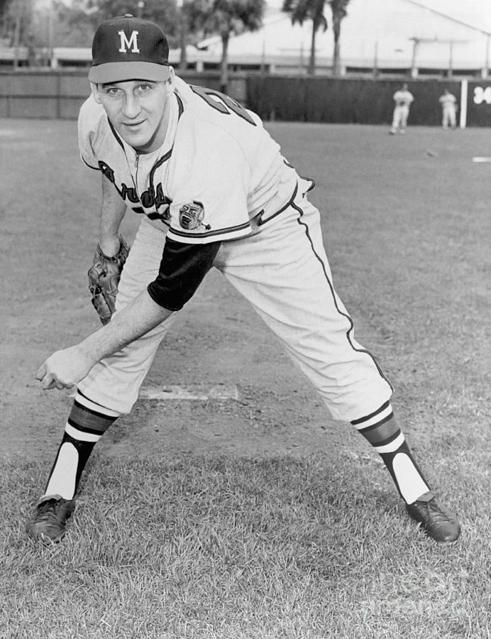 Warren Spahn Photograph by National Baseball Hall Of Fame Library