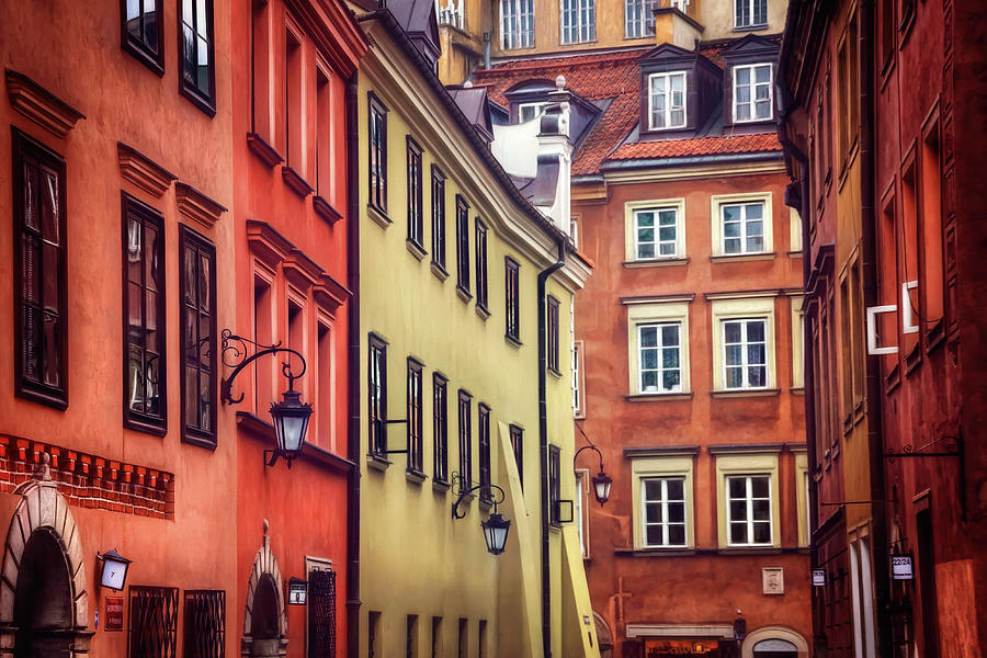 Warsaw Old Town Charm Photograph