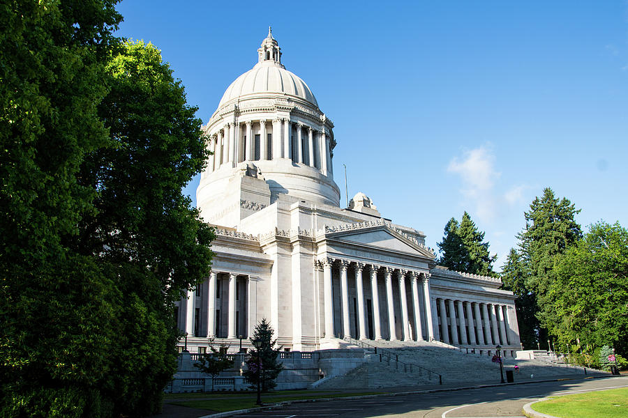 Washington Legislative Building by Tom Cochran