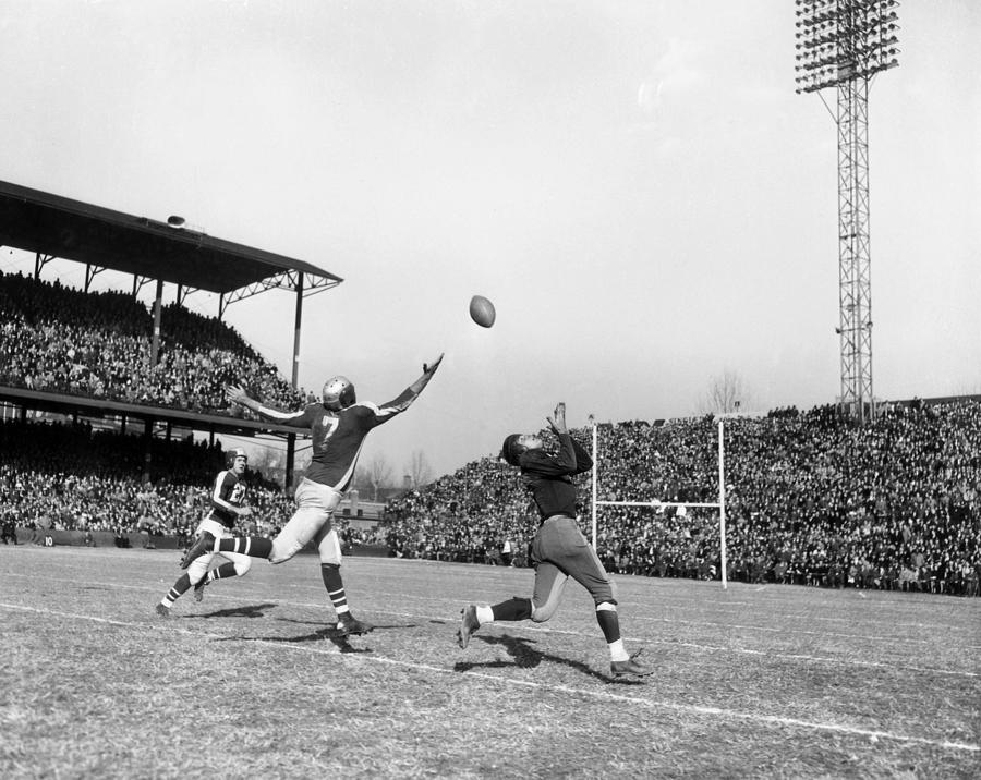 Washington Redskins - File Photos - 1940s Photograph by Nate Fine