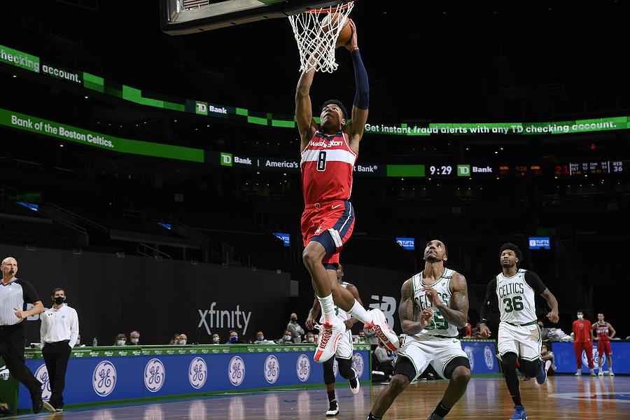 Washington Wizards v Boston Celtics Photograph by Brian Babineau