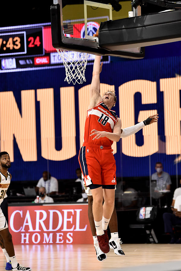 Washington Wizards v Denver Nuggets Photograph by David Dow
