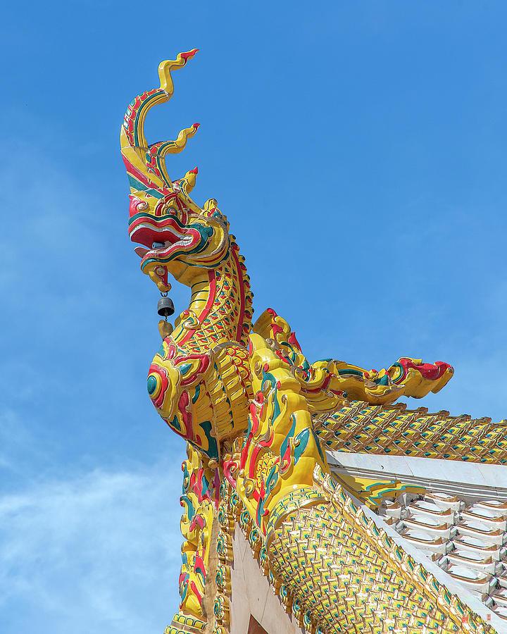 Wat Mahawanaram Phra Wihan Naga Chofah DTHU1152 by Gerry Gantt
