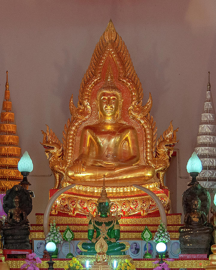 Wat Supattanaram Phra Ubosot Principal Buddha Image DTHU1085 by Gerry Gantt