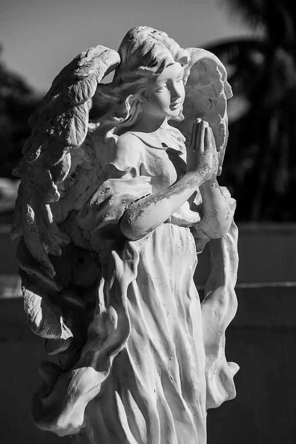 Watchful Guardian Angel by Kristia Adams