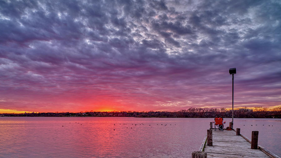 Watching The Sunset 012320 by Rospotte Photography