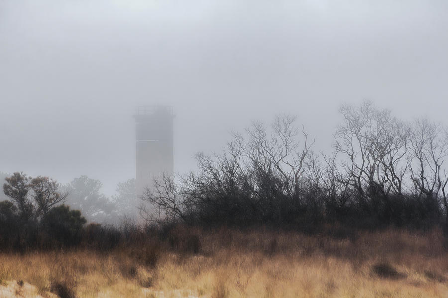 Watchtower In The Mist Photograph